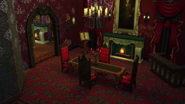 Fangs Out Sims 4 Vampires Review Gaming Trend - Make-your-room-look-like-a-vampires-room