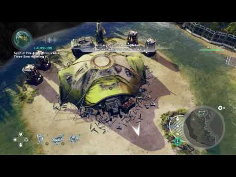Feast your eyes on a Halo Wars 2 campaign mission [spoiler