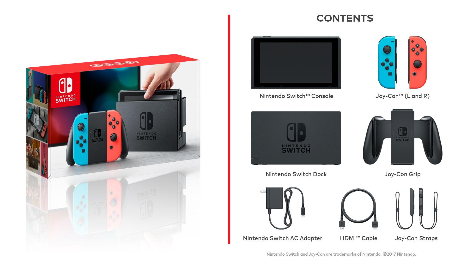 contents - Nintendo Switch Get Best Price Deals