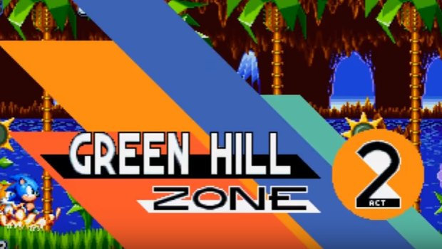 Sonic Mania Green Hill Zone Act 2 Revealed Gaming Trend