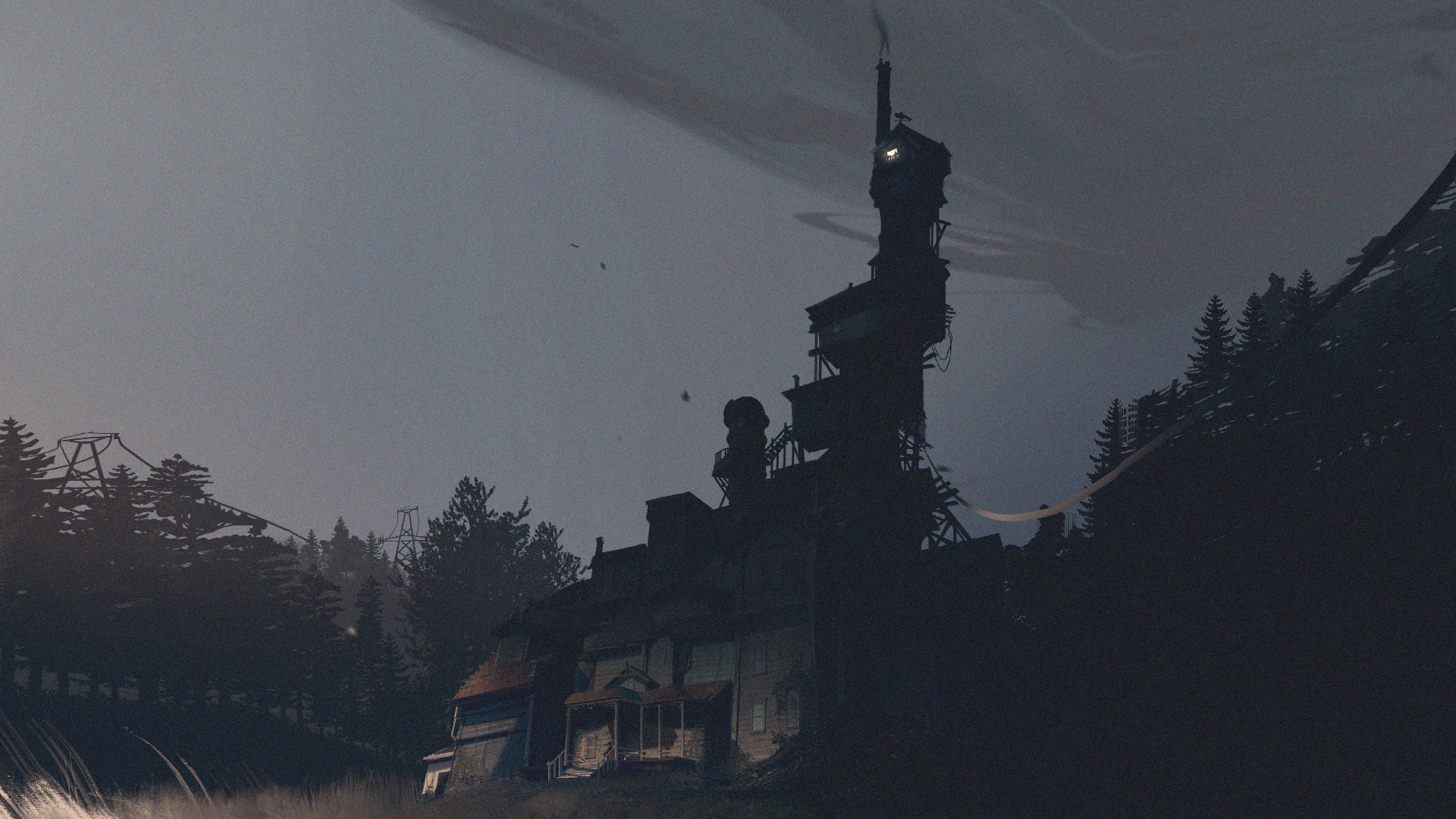 What Remains of Edith Finch - Finch House Concept Art