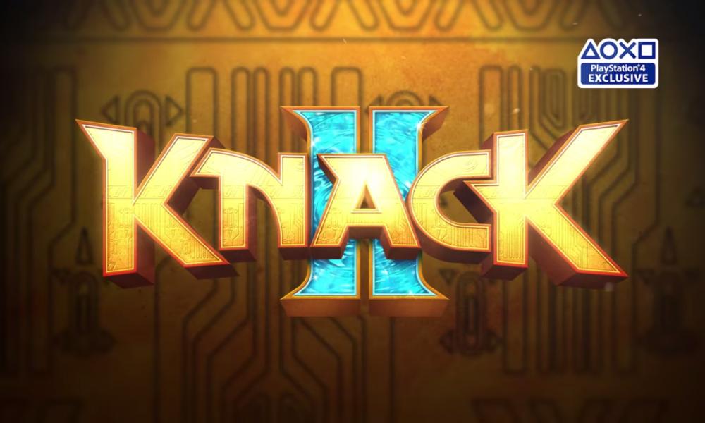 Screenshot of Knack II's logo