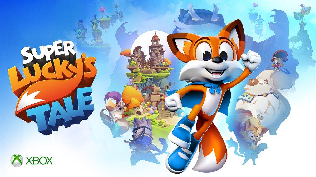 Super Lucky's Tale - Best Platformer of E3 2017 - Nominee