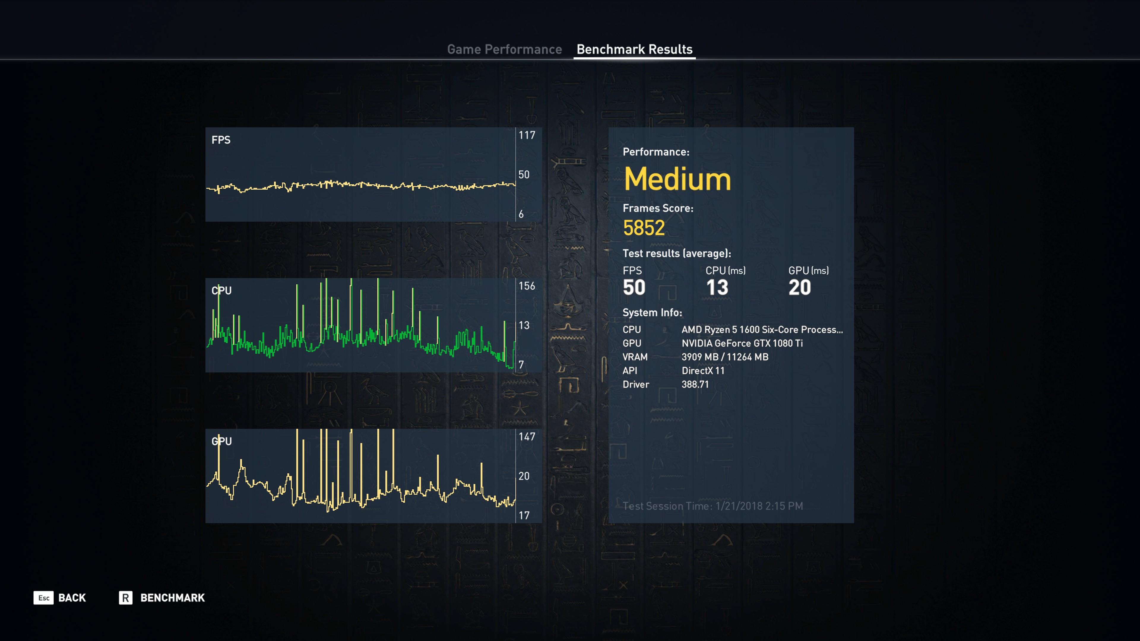 ACOrigins - 1080TI - 4K - Ultra