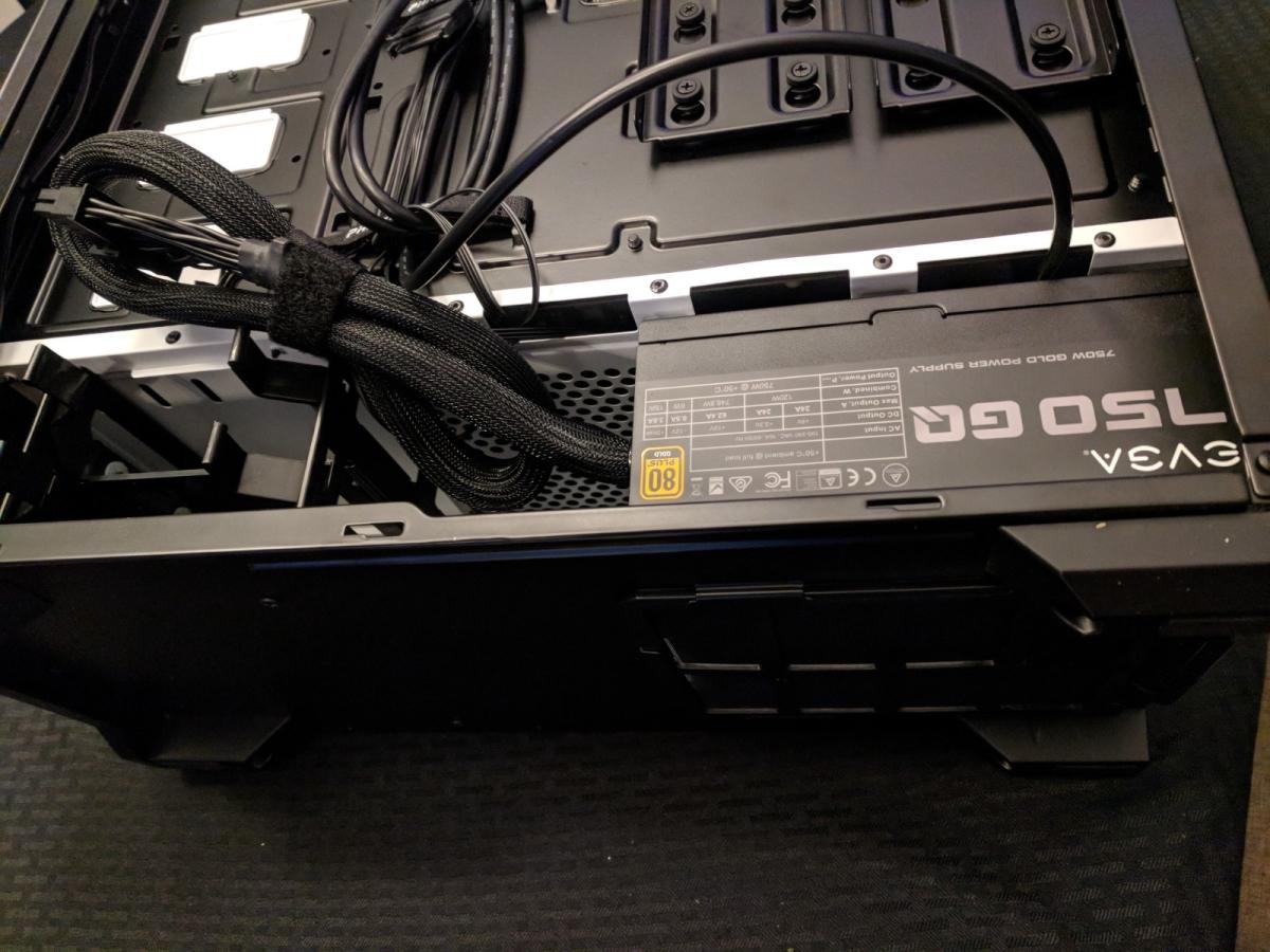 EVGA 750 GQ PSU - 04