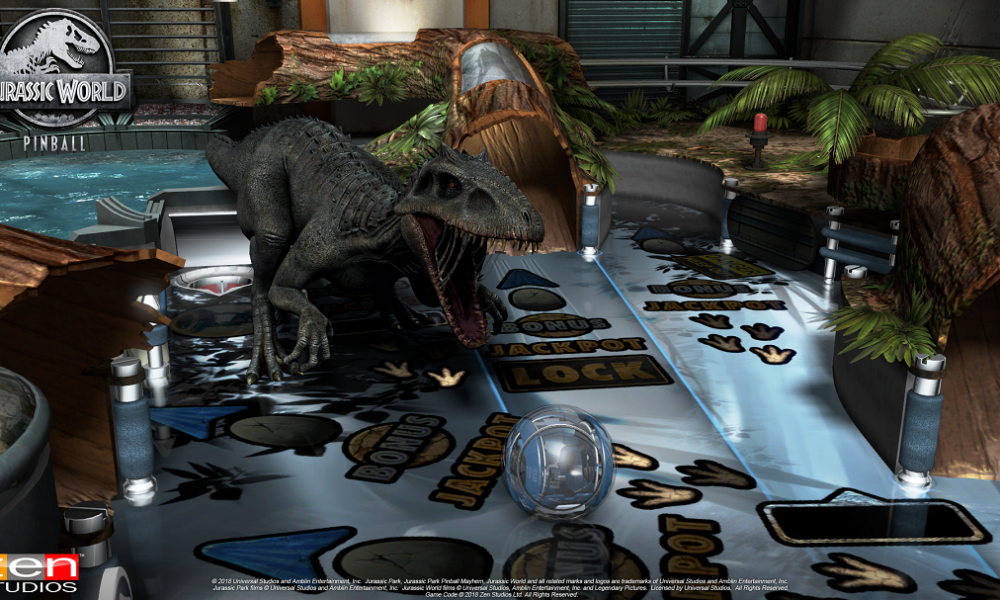 Walk with dinosaurs as Pinball FX3 welcomes players to