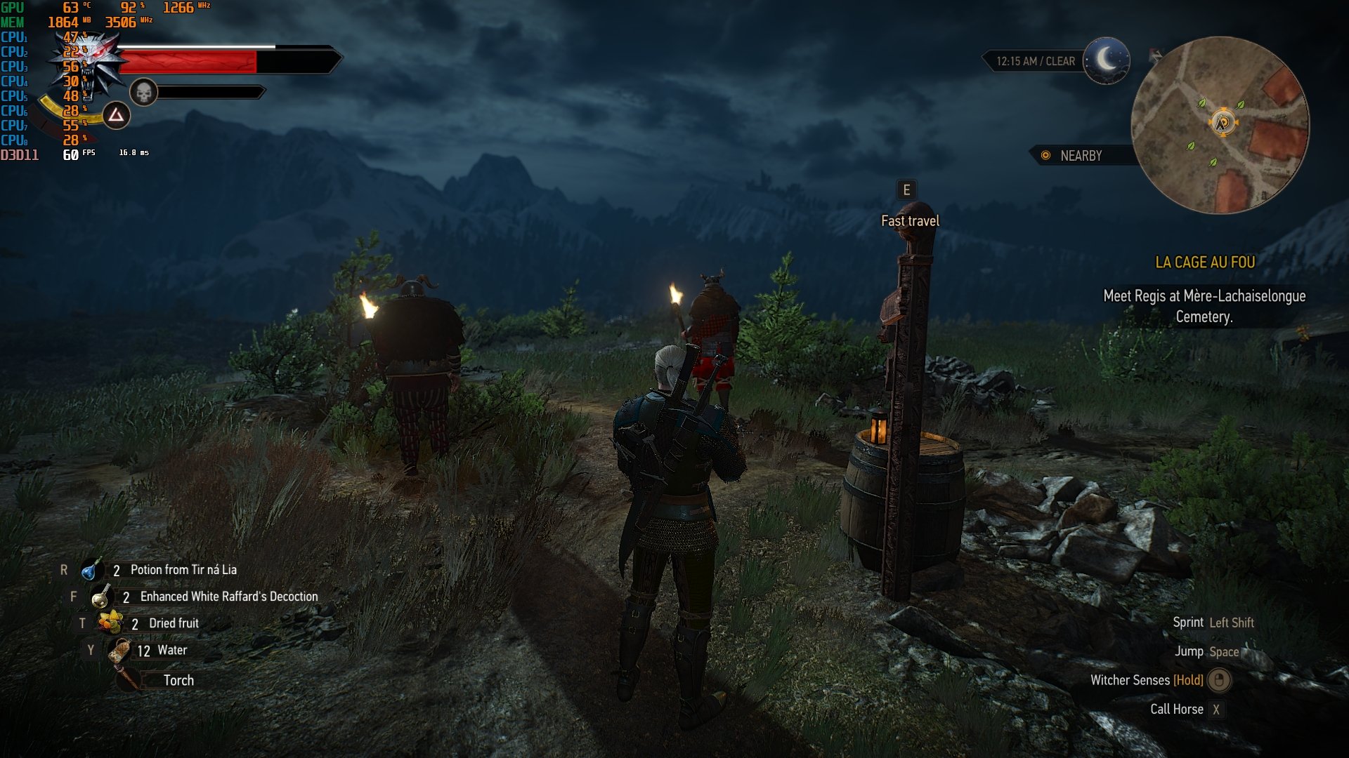 Witcher 3 - 1080p - Ultra - 980