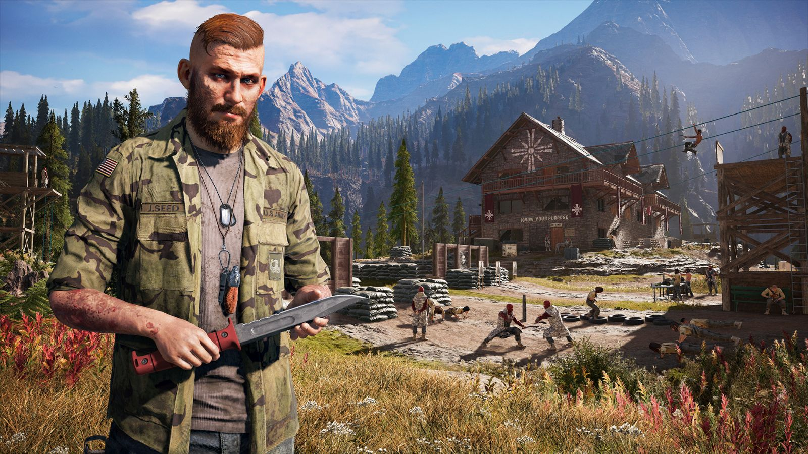 Home Grown Terror In Hope County Far Cry 5 Hands On Preview