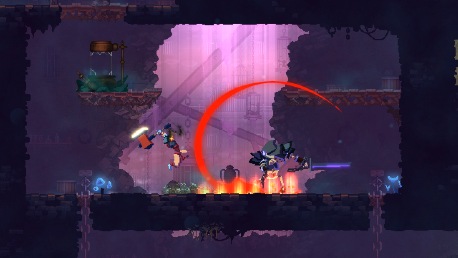 Dead Cells gets Mac and Linux betas, mod support coming soon