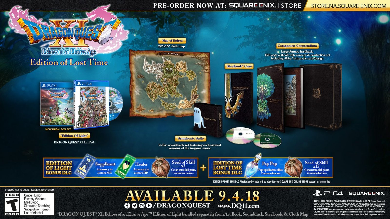 Dragon Quest XI special edition announced ahead of September