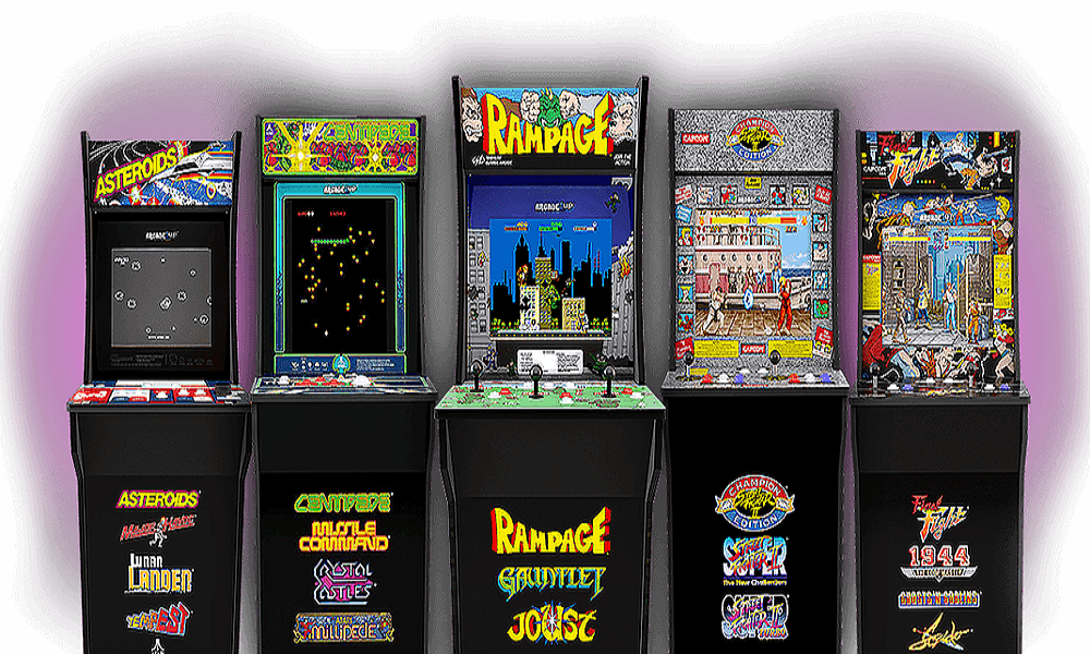 Ready player one — Tastemakers debuts Arcade1Up classic game