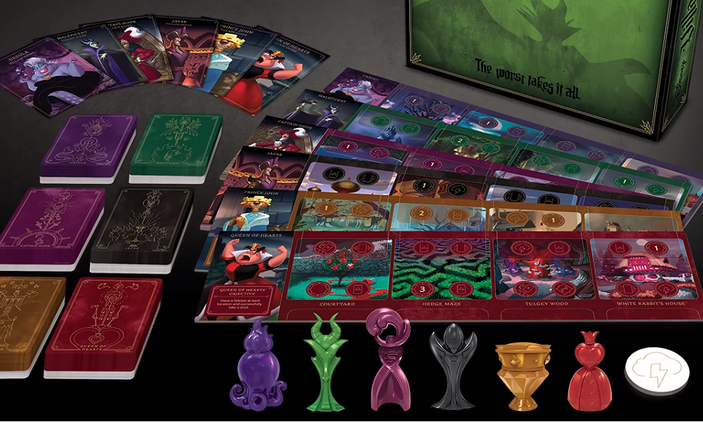 """Disney Villainous wins """"Toy of the Year"""" award at Toy Fair 2019, Wicked to the Core expansion announced image"""