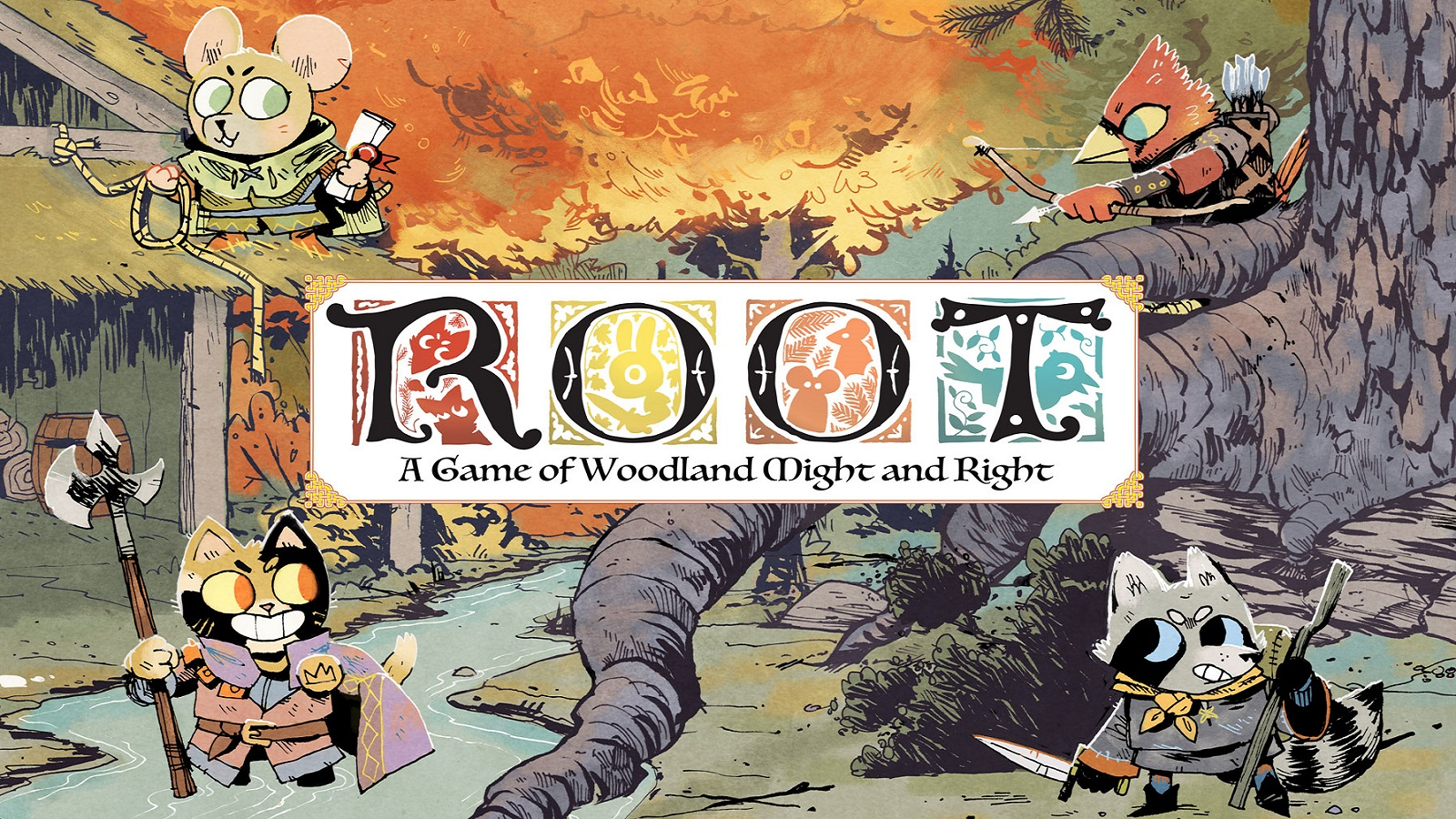 It's time for moles and crows with Root: The Underworld