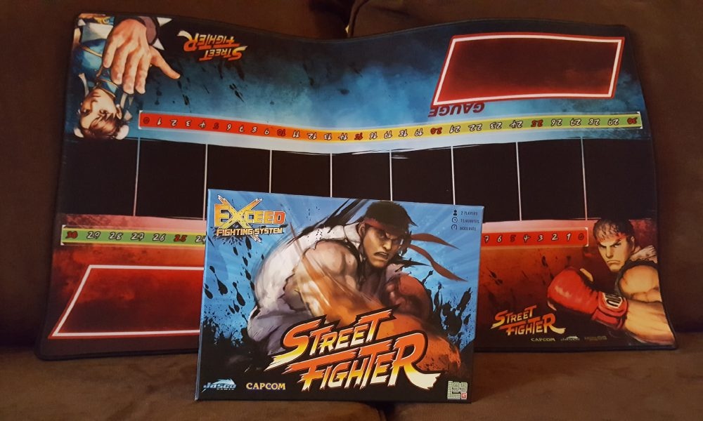 Fighting on the table, not the streets — Exceed Street Fighter review image