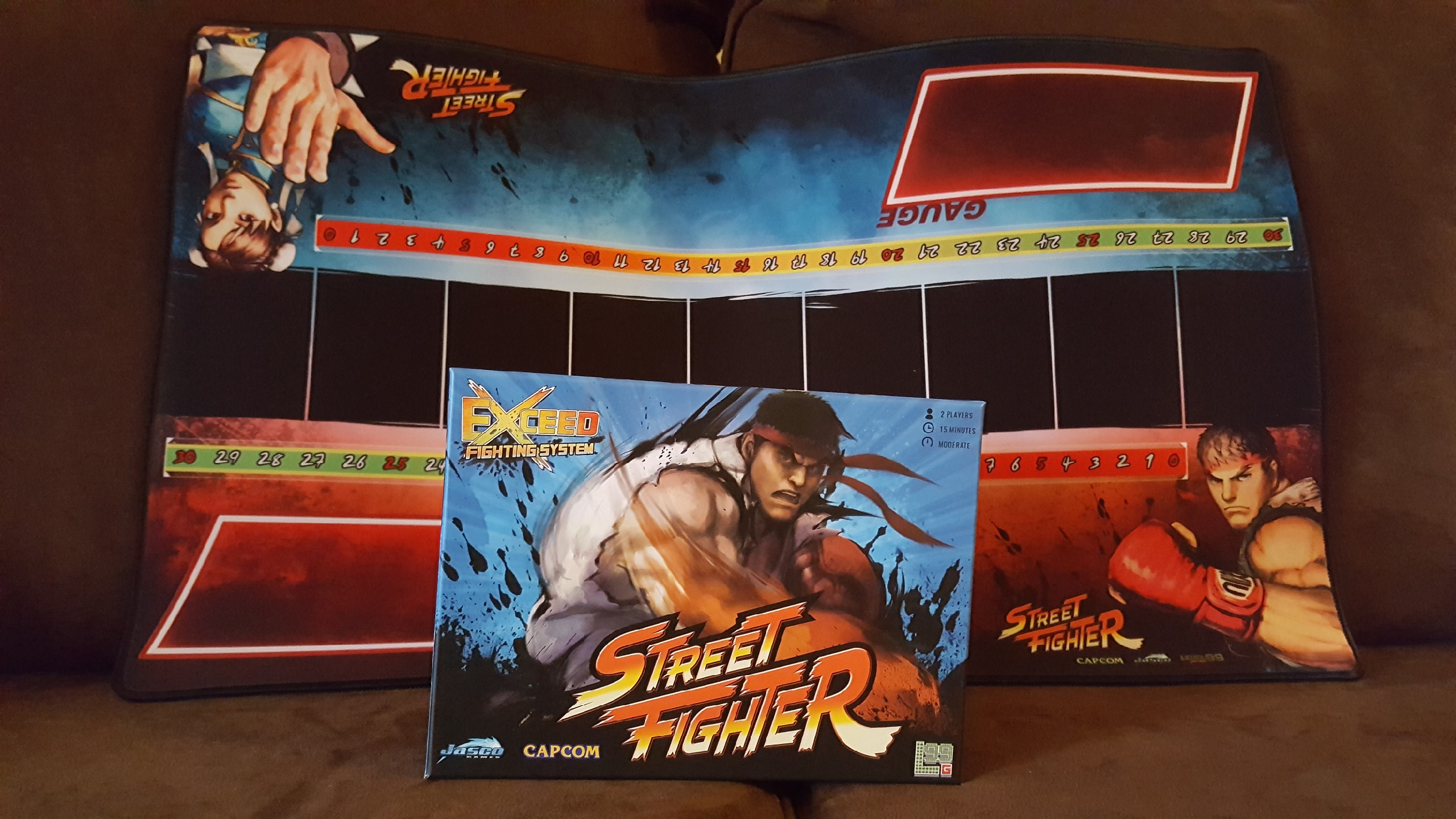 Fighting On The Table Not The Streets Exceed Street Fighter