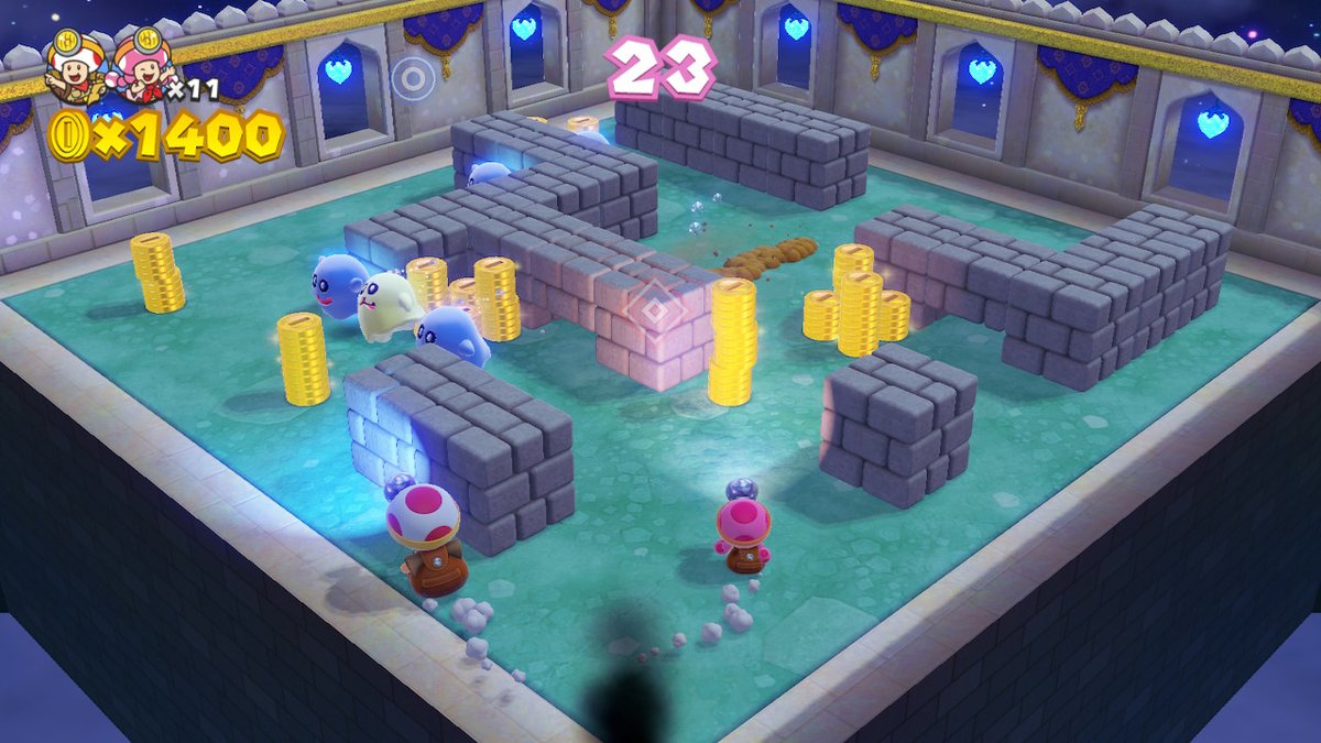 Truncated treasure — Captain Toad: Treasure Tracker Special