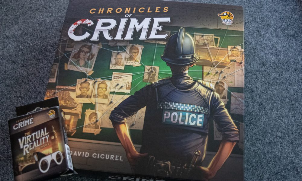 The only thing that matters is the evidence — Chronicles of Crime review image