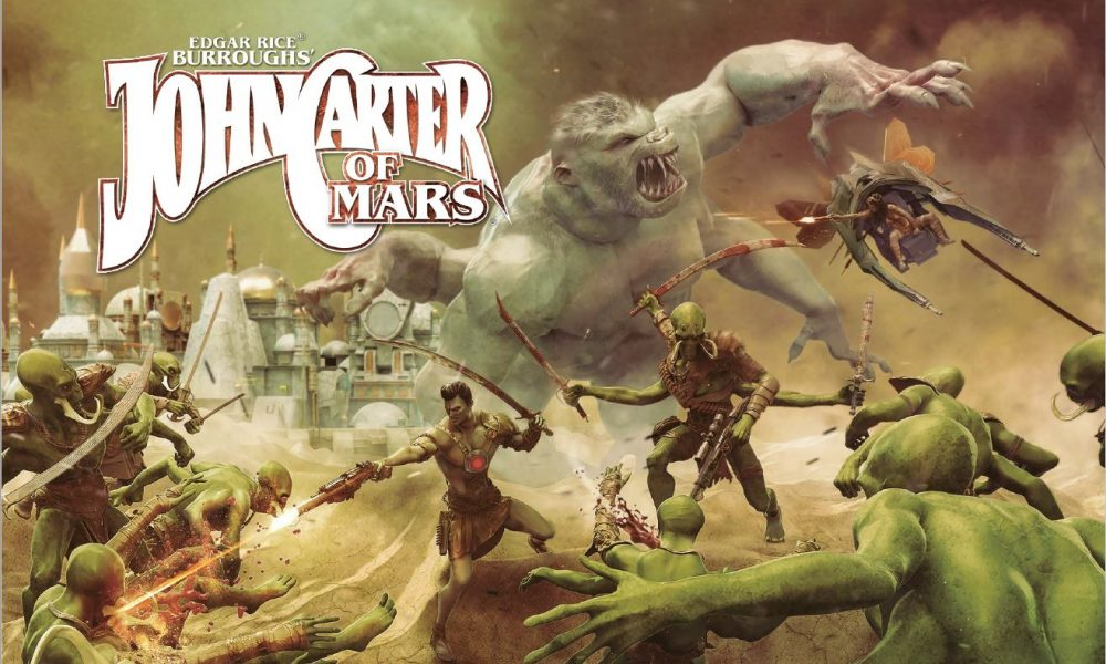 Extraterrestrial skirmishes are inevitable as the John Carter of Mars: Core Rulebook gets released image