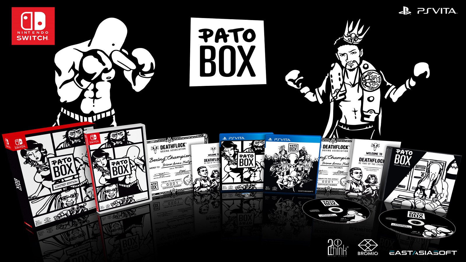 It S A Ducking Awesome Limited Edition As Eastasiasoft Reveals Pato Box Physical Edition Gaming Trend