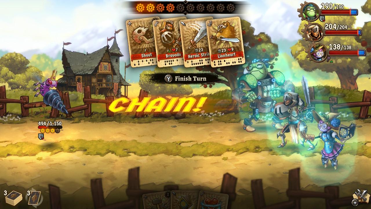 Winning hand — Steamworld Quest: Hand of Gilgamech review
