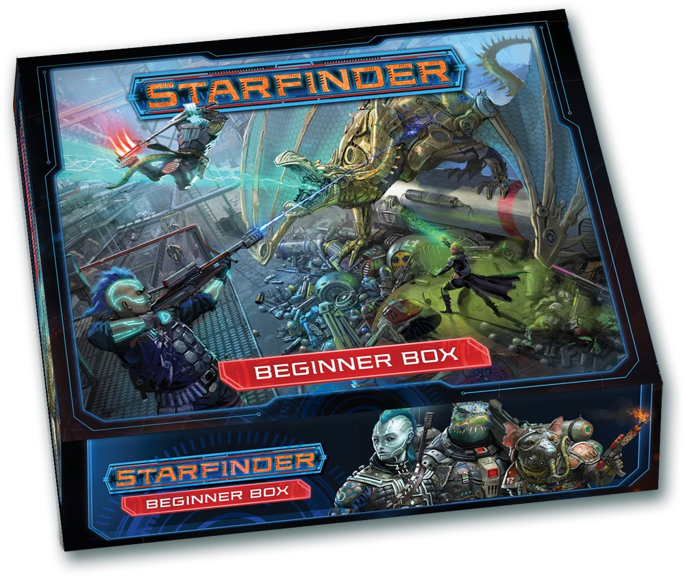 Space Opera for Neophytes — Starfinder Beginner Box review