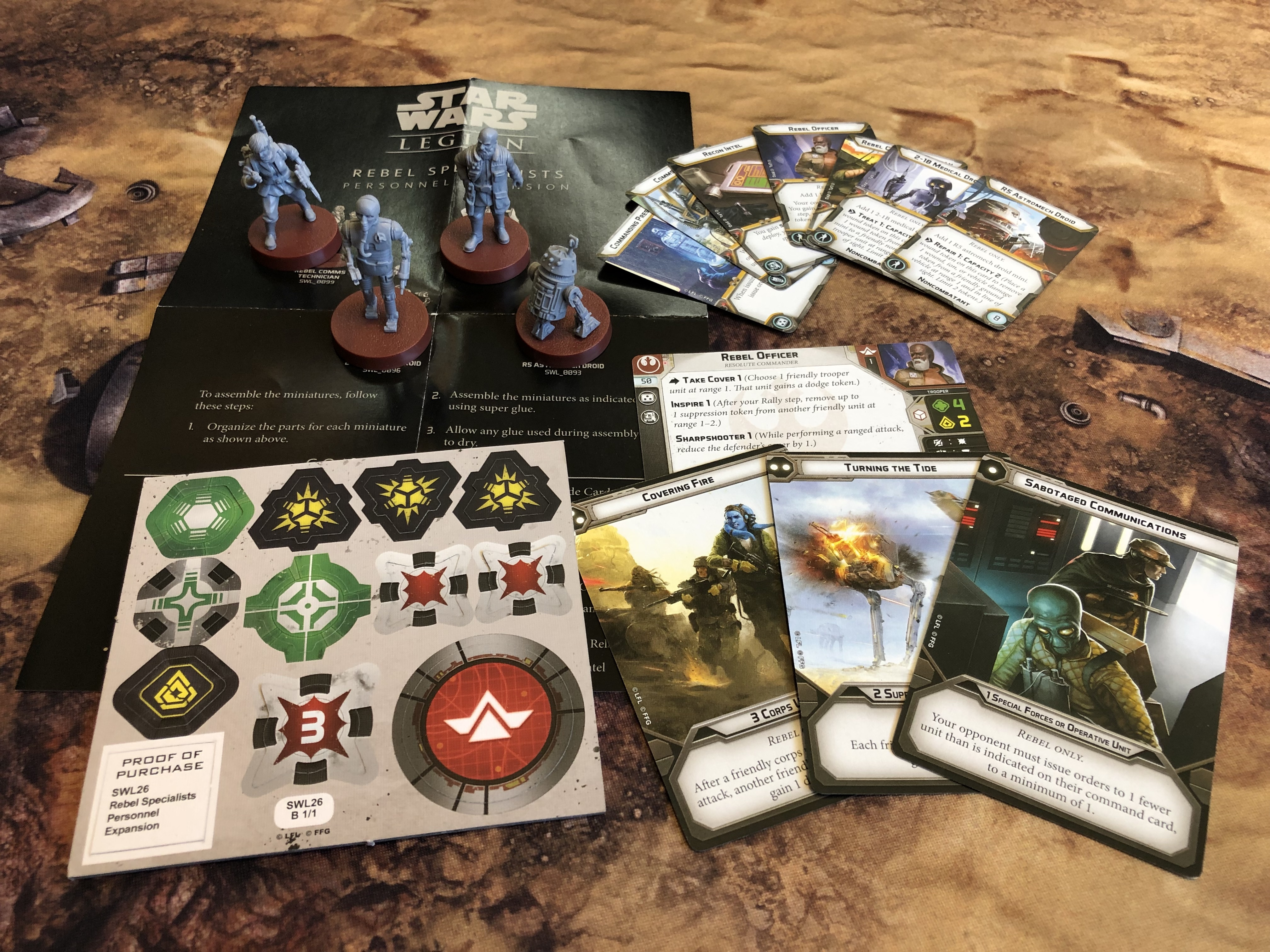 Troops for a special occasion — Star Wars: Legion Rebel and