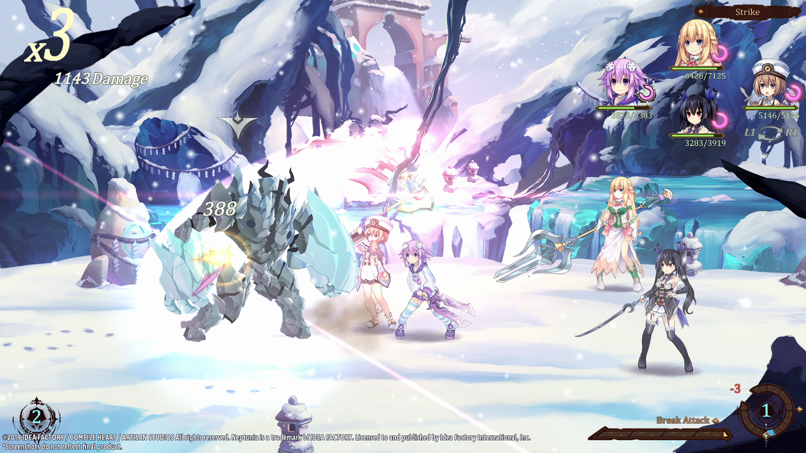 It won't be game over with Super Neptunia RPG this summer on