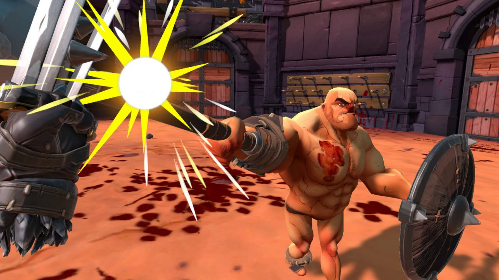 Participate in VR gladiator battles, GORN released out of early