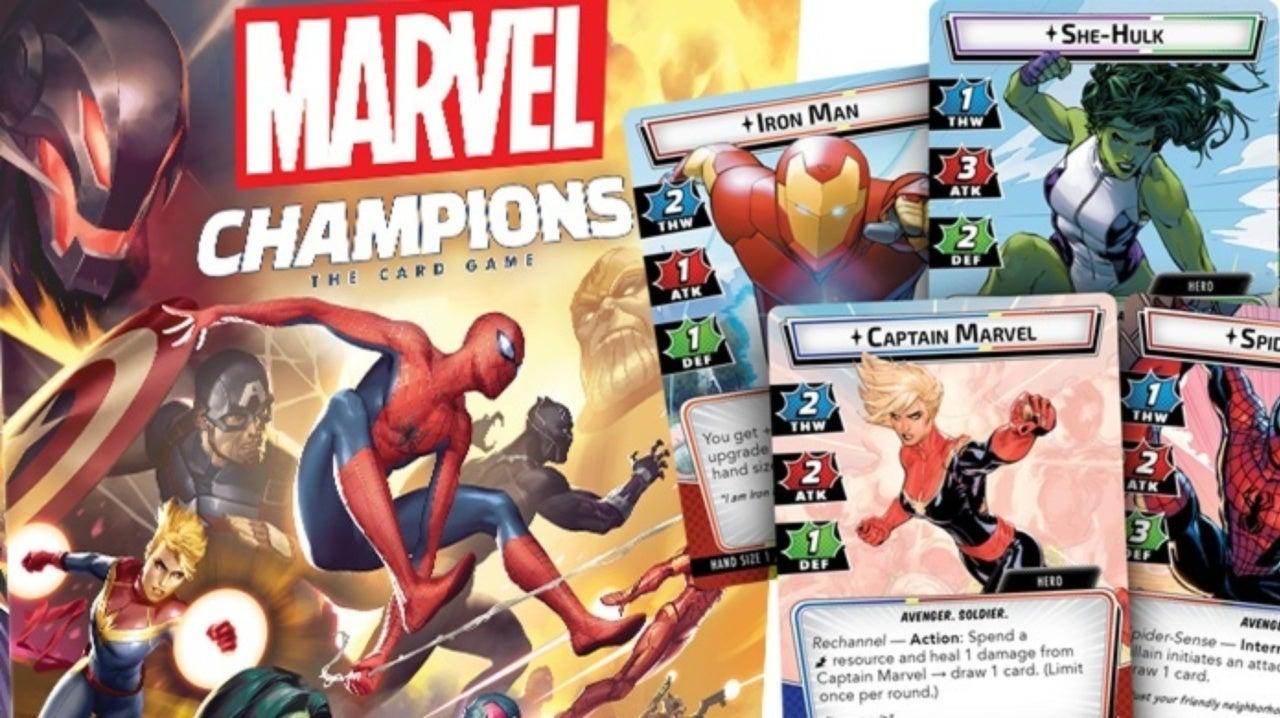 Fantasy Flight announces new LCG in the Marvel Universe