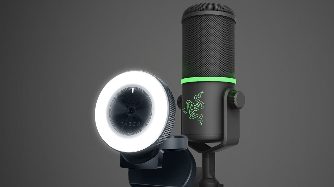 Razer Kiyo Camera and Seirēn Elite Microphone review