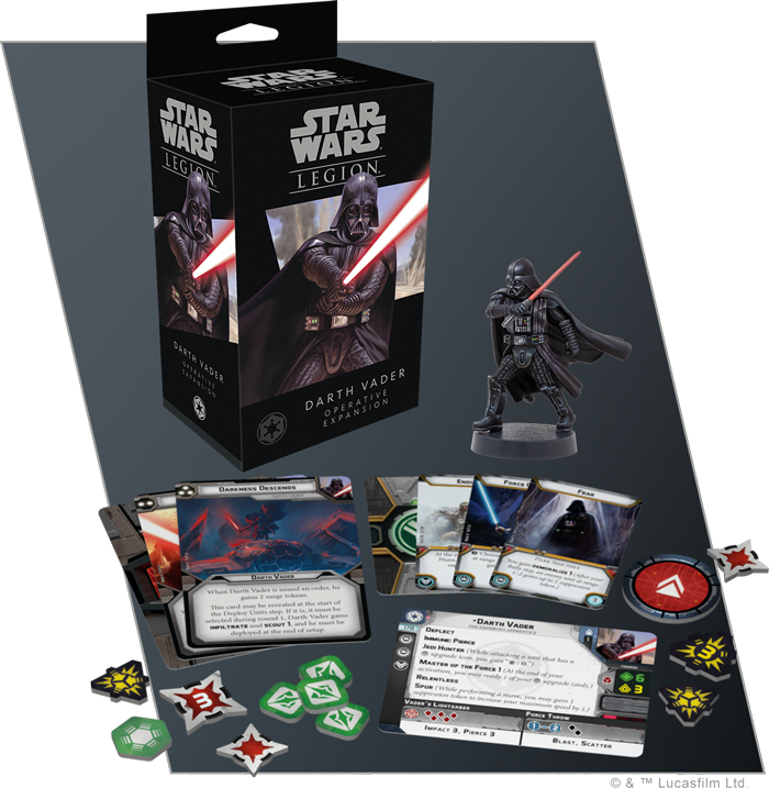 Give In To The Dark Side And Play As Darth Vader In The Newest Announced Expansion For Star Wars Legion Gaming Trend