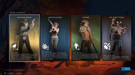 Cuisine Royale character select screen