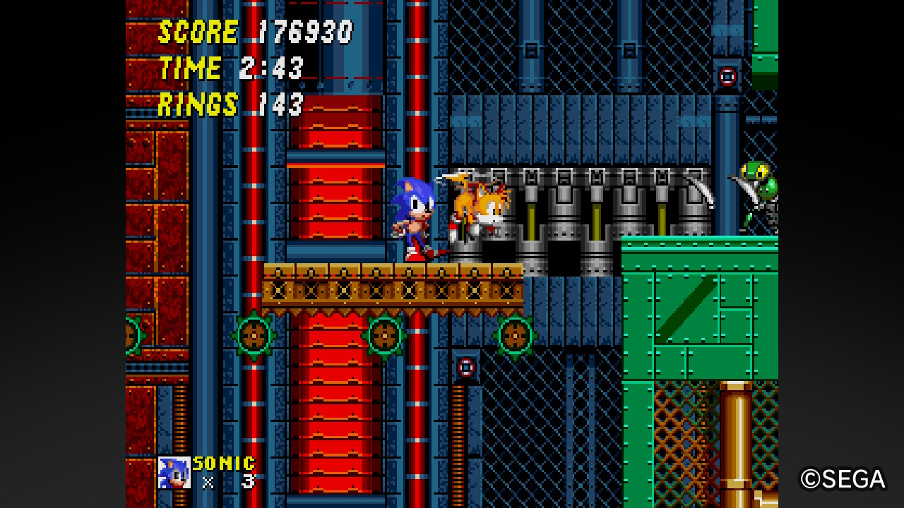 Drop Into An Old Adventure With New Friends Knuckles Sega Ages Sonic The Hedgehog 2 Review Gaming Trend