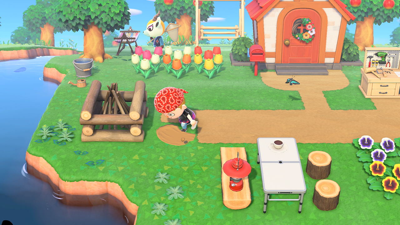 Animal Crossing Island Entrance Design