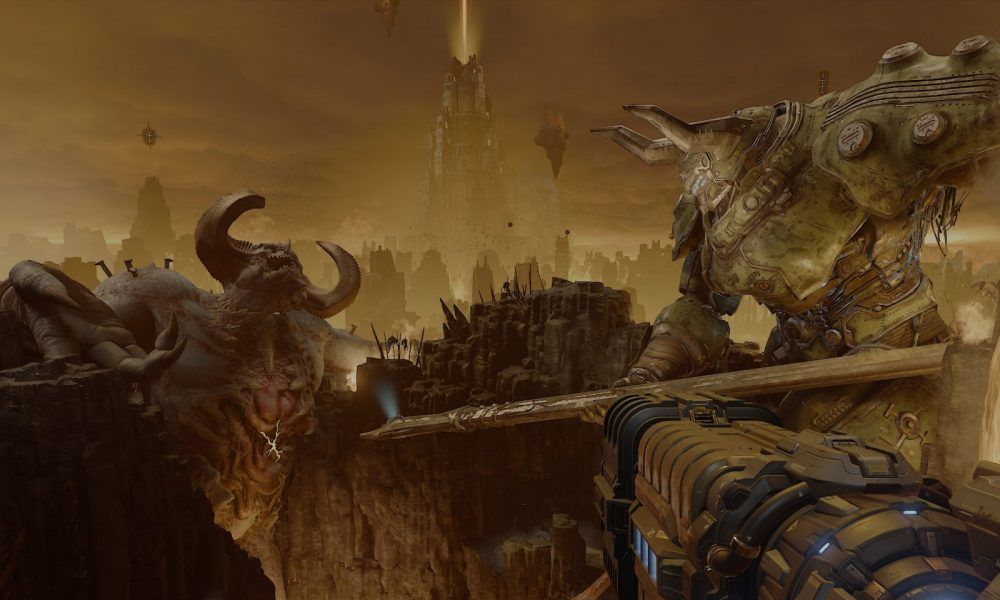 One Hell Of A Time Doom Eternal Review Gaming Trend