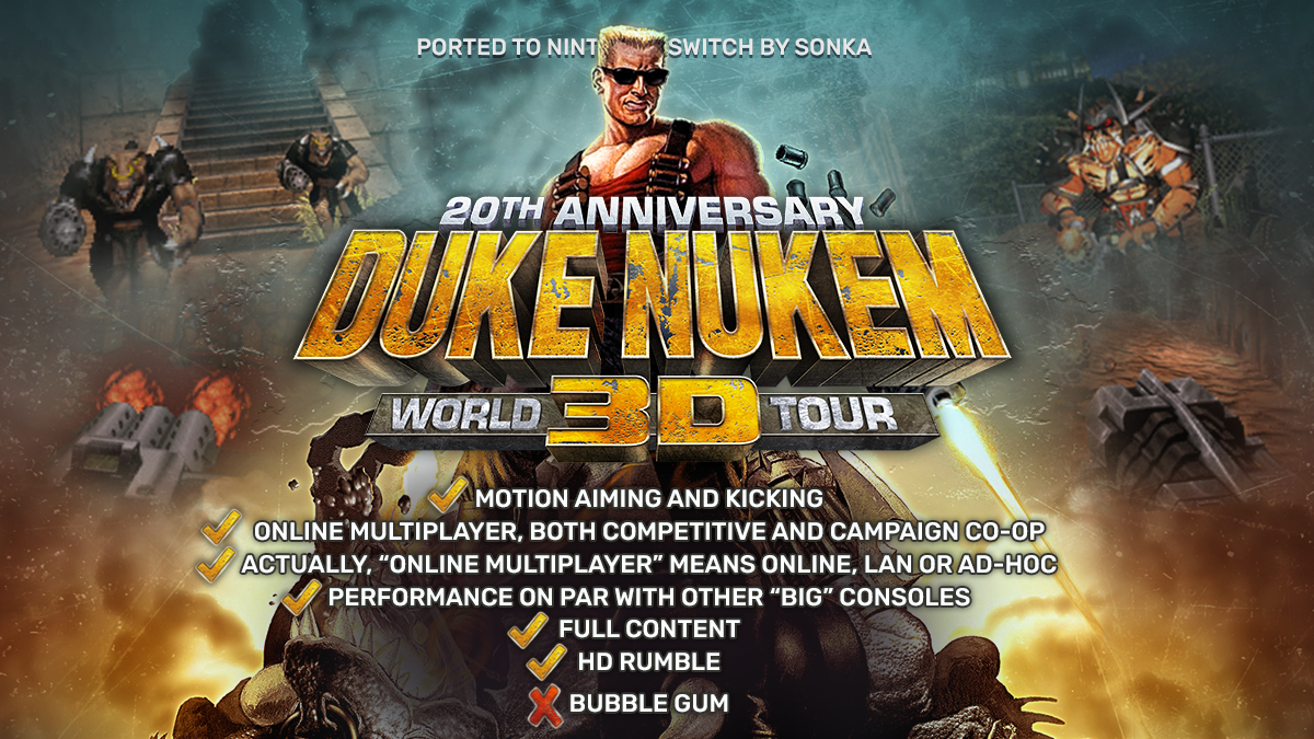 Think You Ve Got Balls Of Steel Duke Nukem 3d 20th Anniversary World Tour Heads To Switch Next Week Gaming Trend