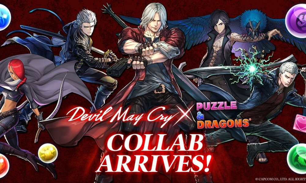 Let S Rock Baby Devil May Cry Leads A New Puzzle Dragons