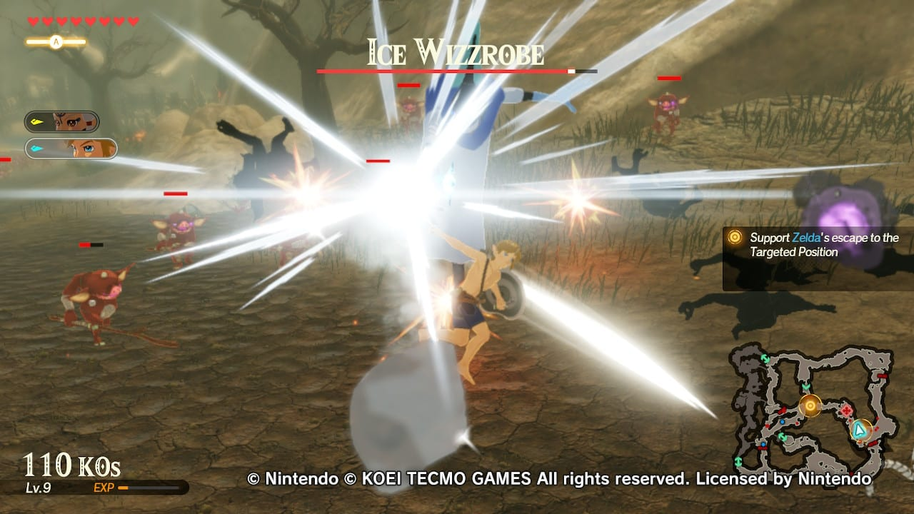 Calamity Of Catharsis Hyrule Warriors Age Of Calamity Demo Preview Gaming Trend